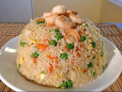 How To Make Shrimp Fried Rice Recipe-Asian Comfort Food Recipes
