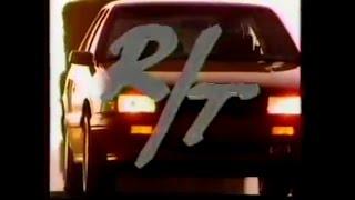 Comercial de Chrysler Spirit R T 16V Edición Especial 1992 ( TV México)