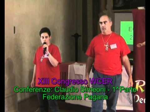 World Congress of Ethnic Religions: speech by Claudio Simeoni, Federazione Pagana, part 1/3