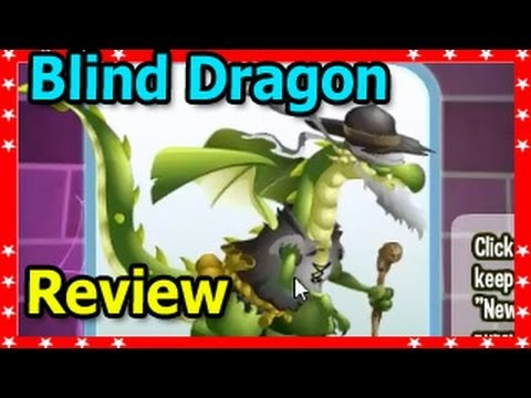 BLIND DRAGON in Dragon City in  Black Market Level Up Fast Attacks Review
