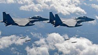 US, Japan, South Korea conduct bombing drills near DMZ