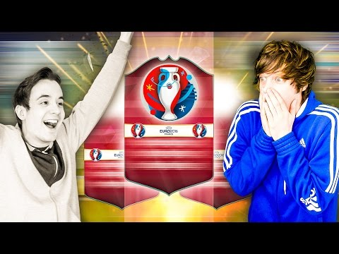 THE EURO 2016 BEASTS FUT DRAFT!!! - FIFA 16 Ultimate Team