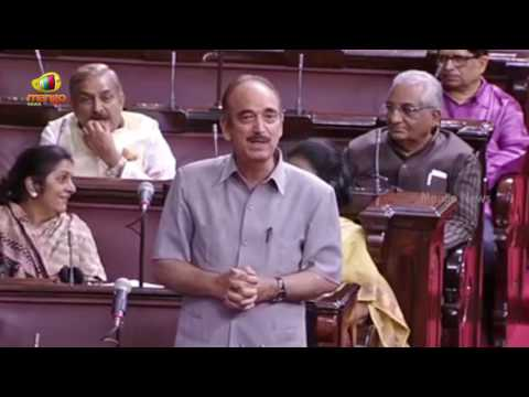 Ghulam Nabi Azad Full Speech | Dalit Atrocities, Kashmir Violence | Rajya Sabha | Parliament Session
