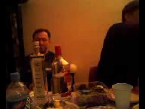 Тост. Пьем водку. Brooklyn, New York