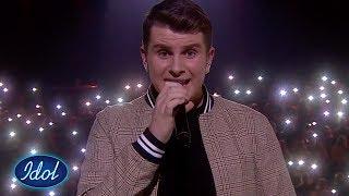Dommerne har ikke ord etter Øysteins vakre versjon av Before I Go (FINALE) | Idol Norge 2018