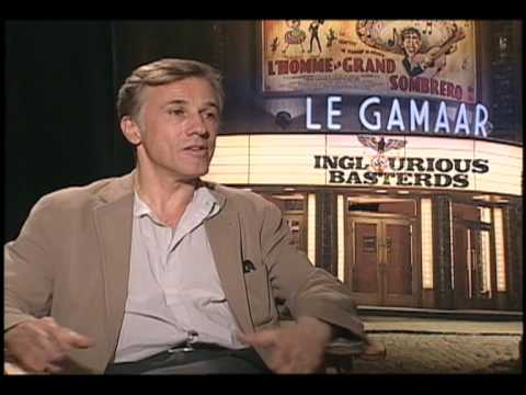Christoph Waltz Interview w/ Stupid For Movies for Inglourious Basterds