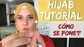 Como se ponen el HIJAB las MUSULMANAS? Hijab Tutorial paso a paso