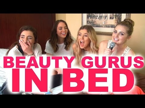 BEAUTY GURUS IN BED!
