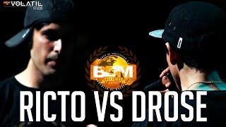 BDM Gold 2015 / 4° de Final / Ricto VS Drose