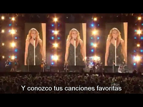 You Belong With Me - En Vivo - Sub Titulado - Español - HQ