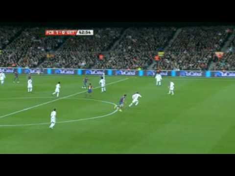 FC Barcelona 2-1 Getafe CF [ highlight ] [ HQ ] 06/02/2010  [ 21.Jornada La Liga ]