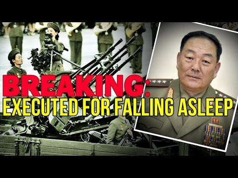 BREAKING: Executed for Falling Asleep in North Korea