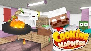 Monster School | Cooking Challenge | Monster School