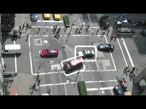 3 Way Street  Artist video tracks scary traffic  Funny!!
