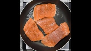 Creamy Coconut Lime Salmon  (fried fish recipes, red fish recipes)
