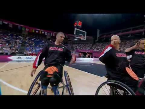 Wheelchair Basketball - Men's Semifinal - GBR versus CAN - London 2012 Paralympic Games
