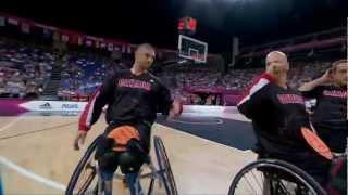 Wheelchair Basketball - Men's Semifinal - GBR versus CAN - London 2012 Paralympic Games