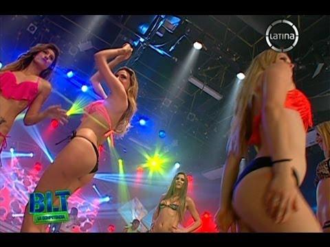 Las Chicas Doradas desfilan en bikini en 'Bienvenida la Tarde'