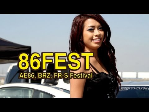 86Fest - Scion FR-S Subaru BRZ AE86 Festival