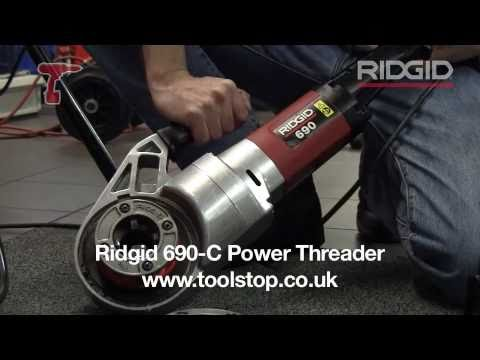 RIDGID 690-C (41967) Power Threader Pipe capacity ½