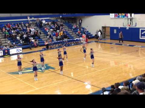 Snowflake High School Cheer 2-1-14