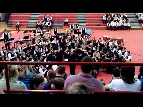 Bullitt East High School Band Christmas 2012