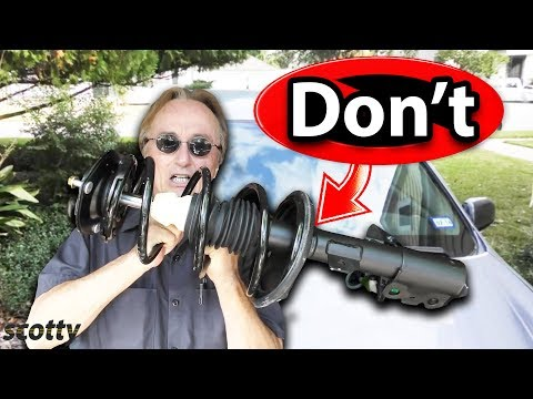 Why Not to Buy a Cheap Quick Strut Assembly for Your Car