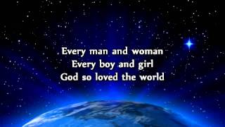Watch Aaron Shust God So Loved The World video