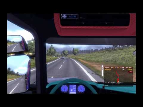 Level 48 Euro Truck Simulator 2 Gameplay TrackIR 5