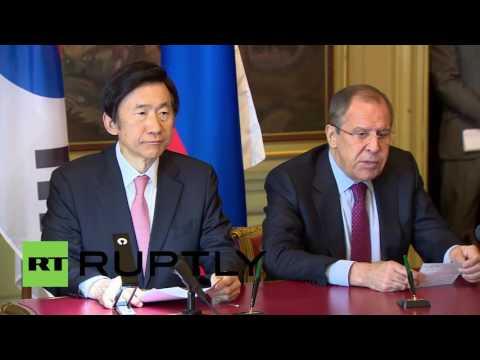 Russia: South Korea, Russia do not accept nuclear status of North Korea - Lavrov