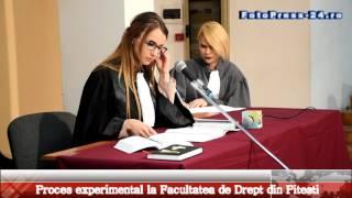 1 Proces experimental la Facultatea de Drept din Pitesti