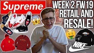WILD SUPREME x NIKE SB WEEK 2 RETAIL AND RESALE FULL DROPLIST | BEST NIKE COLLAB? | MOST HYPED ITEMS