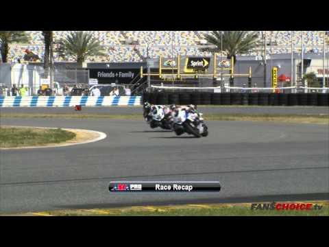 AMA Pro SuperBike - Daytona International Speedway - 2014 Race 2 Highlights