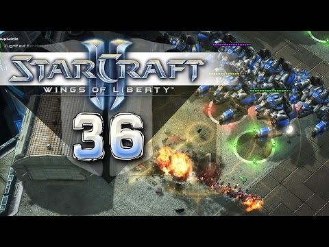 Starcraft 2: Wings of Liberty #036 - Maximum Thor - Let's Play [Kampagne]