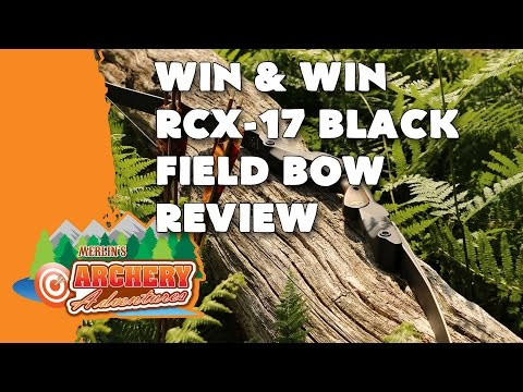 Win&Win RCX 17 Field Bow Review by Merlin's Archery Adventures