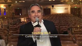 Palmarès du Droit 2021    Gowling WLG   Contentieux commercial