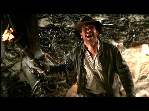 Indiana Jones Raiders Of The Lost Ark - Snake Encounter Scene