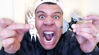 MOST DANGEROUS FIDGET TOYS 2!! (EXTREME 1000+ MPH NINJA STAR)