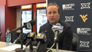 WVU Football: Dana Holgorsen postgame vs Iowa State 11-29-2014