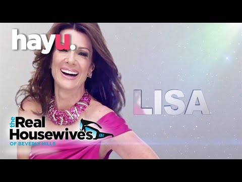 Meet Lisa Vanderpump // The Real Housewives of Beverly Hills