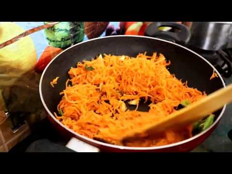SPICY CARROT FRY IN TELUGU | RAMA SWEET HOME