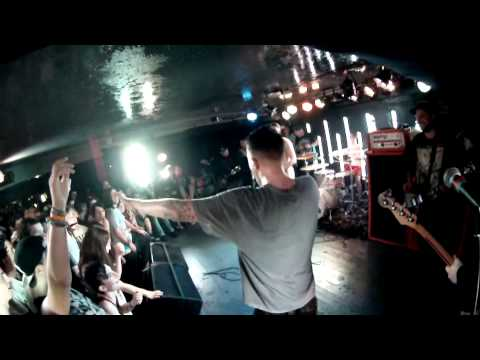 Your Demise NQ Live Manchester (19/02/13) Naked Stage Dive