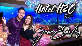 Year End Vlog at Hotel H2O Manila - Travel and Food Vlog (Darshey Goesto)
