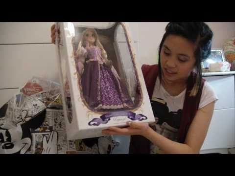 """De-boxing"" of Disney s Exclusive Limited Edition Tangled Princess Doll: March 29"