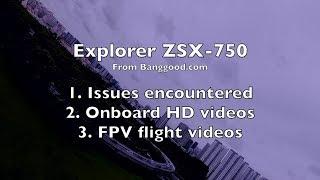 Explorer ZSX-750 RC Plane - Onboard Videos & FPV - Part 2/2