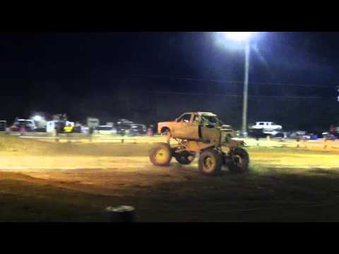 Cory Rummell in Going Deep at Twittys mud bog 2012 Throttle