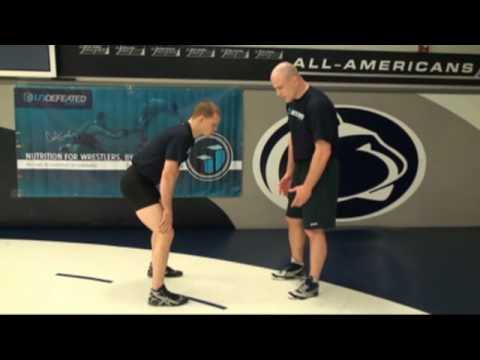 Cael Sanderson showing his Inside Single with Ricky Lundell Image 1
