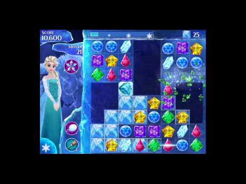 Disney Frozen Free Fall - Level 75 [Gameplay Walkthrough]
