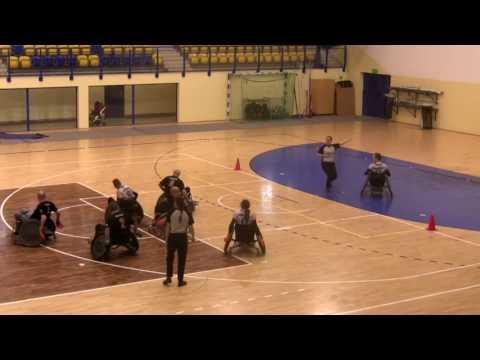 VII Katowicki Turniej Rugby Na Wózkach - Mecz O 3 Miejsce: Dragons – Brave Snails 24:44