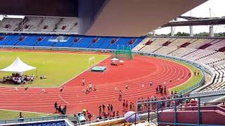 Mike chayanne 4x100 m team miri MSS Sarawak 2017 lelaki 12 Tahun